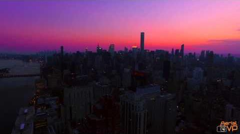Drone View of New York City 4K