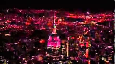 Empire State Building Halloween Light Show