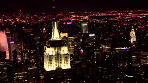 The Empire State Building Lights Up During the 37th Annual Macy's Fireworks Show