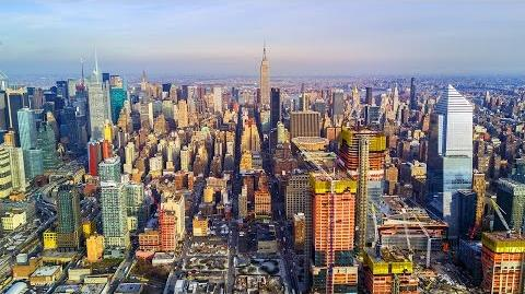 New York City NYC Manhattan's Westside Aerial Drone Video DJI Mavic Pro 4K