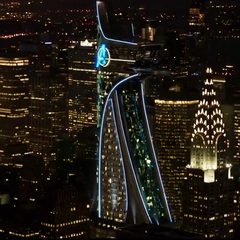 the MetLife Building's Marvell Cinematic Universe counterpart, Avengers Tower