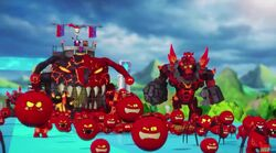 Lava Monster Army