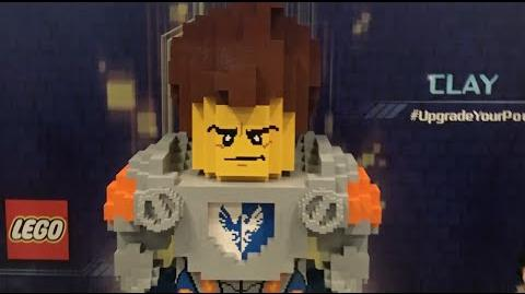 LEGO® NEXO KNIGHTS™ - New York Comic Con - Time Lapse LEGONYCC