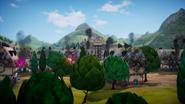 Web1 destroyed village