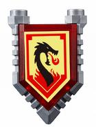 Lava Dragon Shield