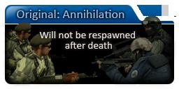 CSO annihilation