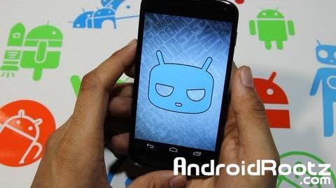 CyanogenMod 10.1 M3-2