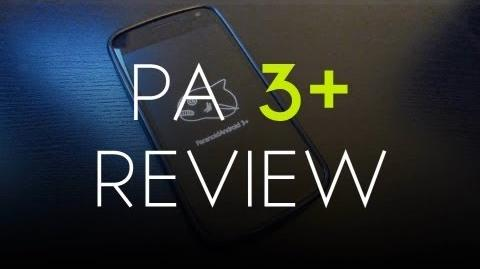 Paranoid Android 3 Review