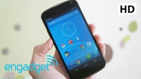 Google Nexus 4 Review (Engadget)