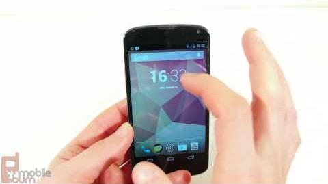 Google Nexus 4 Review (MobileBurn)