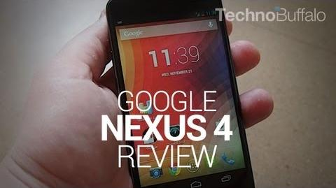 Nexus 4 Review (Techno Buffalo)
