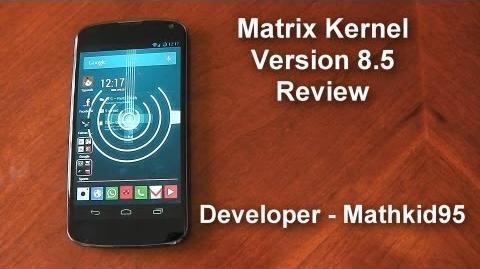 Matrix Kernel v8.5