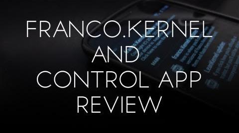 Franco.Kernel & Franco.Kernel Updater