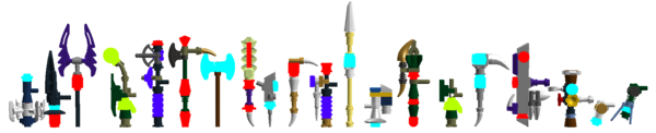 Legend of Chima weapons 3