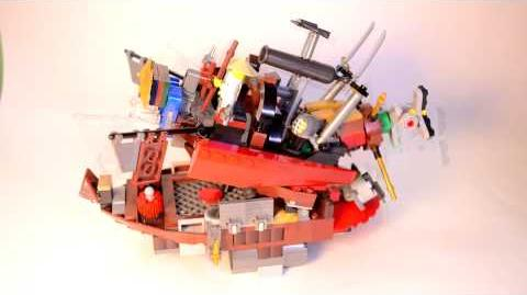 "Chomp Jaw Battleship - ReBrick ""Be the Special"" Entry"
