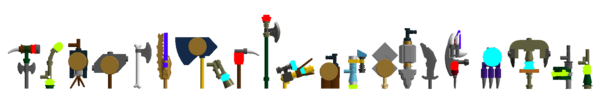 Legend of Chima weapons 4