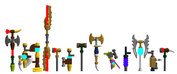 Legend of Chima weapons 2