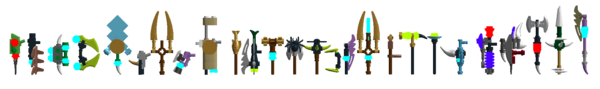Legend of Chima weapons 6