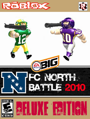 NFC North Battle 2010 Game Cover (Deluxe)