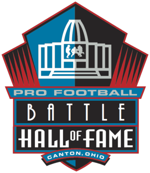 Pro Football Battle Hall of Fame Logo