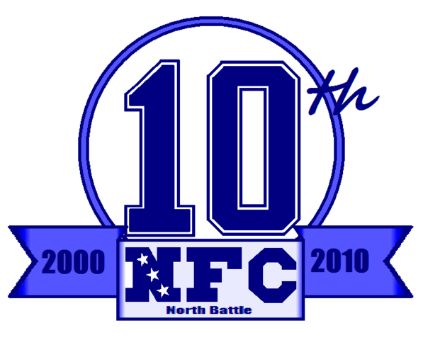 File:10th Anneversary Logo NFC North Battle.png