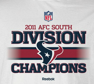 2011 AFC South Champions