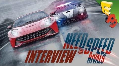 Need for Speed RIVALS Interview with Adam Sessler at E3 2013!