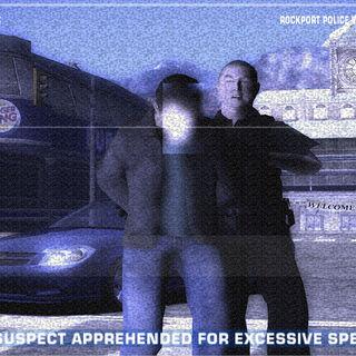 Gracz aresztowany przez policję<br /><small>(<i>Need for Speed: Most Wanted</i>)</small>