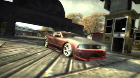NFS Most Wanted Demo Intro