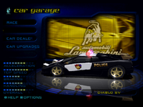 NFSHS Lamborghini Diablo SV USA Police