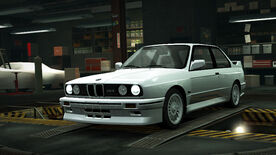 NFSW BMW M3 Sport Evolution White
