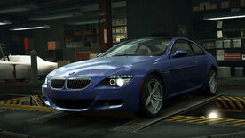 NFSW BMW M6 Coupe Blue