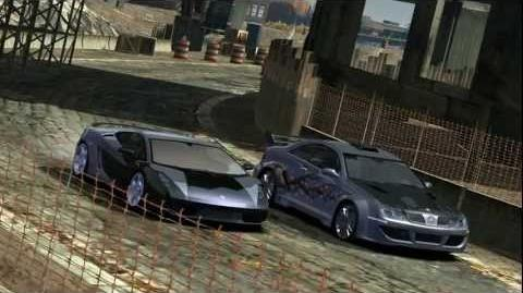 NFS Most Wanted Blacklist Entrance - 6 Ming