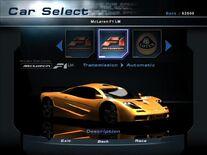 NFSHP2 Car - McLaren F1 LM PC