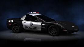 NFSHP2 PS2 Chevrolet Corvette Z06 Pursuit