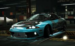 Nfs world mitsubishi eclipse gs-t elite