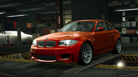NFSW BMW 1 Series M Coupe Orange