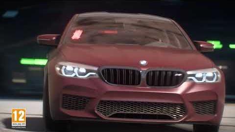 Ponte al volante del nuevo BMW M5 en Need for Speed Payback