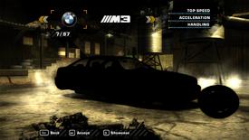 NFSMW BMWM3 PC