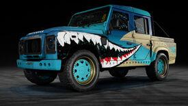 NFSPB LandRoverDefender110 SharkAttack Garage