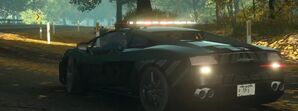 Nfs the run gallardo police