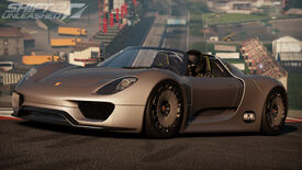 Shift2 unleashed porsche 918 spyder concept day 1