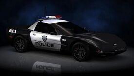 NFSHP2 PS2 ChevroletCorvetteZ06 Police