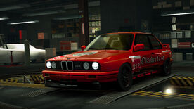 NFSW BMW M3 Sport Evolution Brezeln