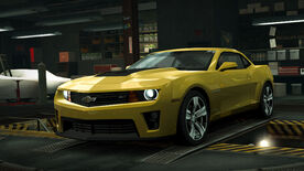 NFSW Chevrolet Camaro ZL1 Yellow