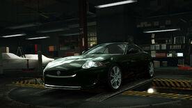 NFSW Jaguar XKR Green