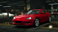 NFSW Mazda RX-8 2003 Red
