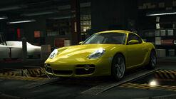 NFSW Porsche Cayman S Yellow