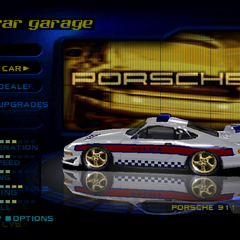 Need for Speed: Road Challenge<br /><small>(PlayStation - zmodyfikowana francuska Policja)</small>