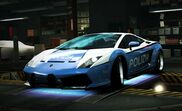 Nfs world lamborghini gallardo cop edition